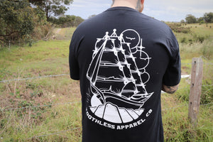 Toothless Clipper Ship Tall Tee