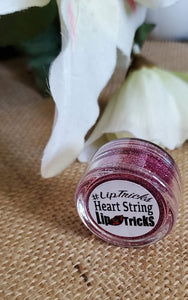 Heart String Glitter Topper