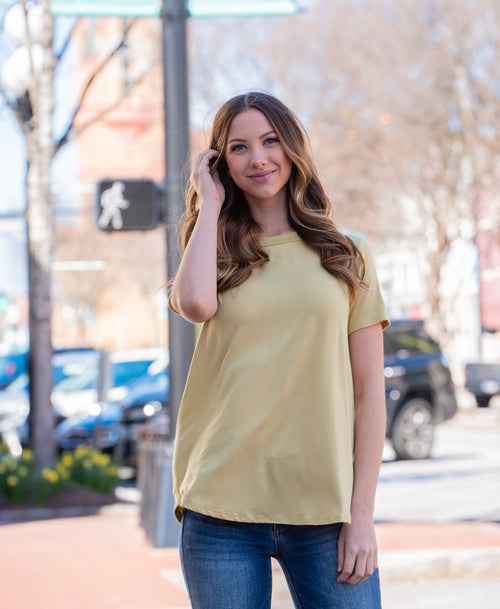 Bamboo Basic Tee - Corrine