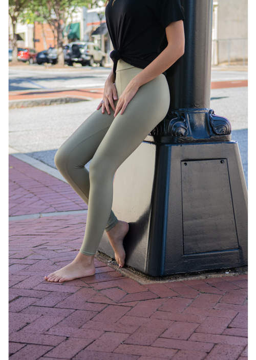 Soft and Comfortable Leggings - Edisto