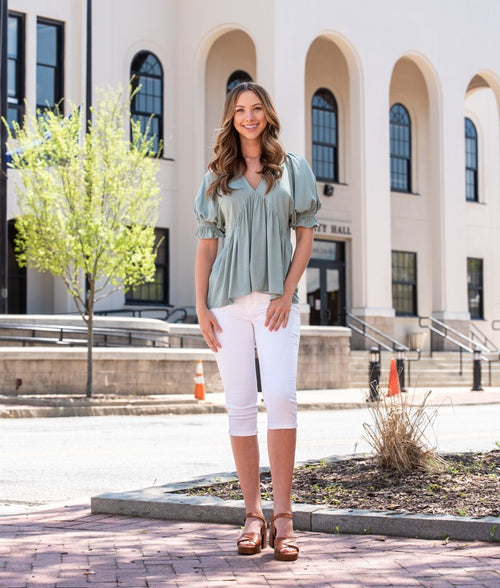 Effortless Short Sleeve Top