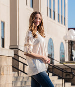 Timeless Short Sleeve Cotton Slub Top
