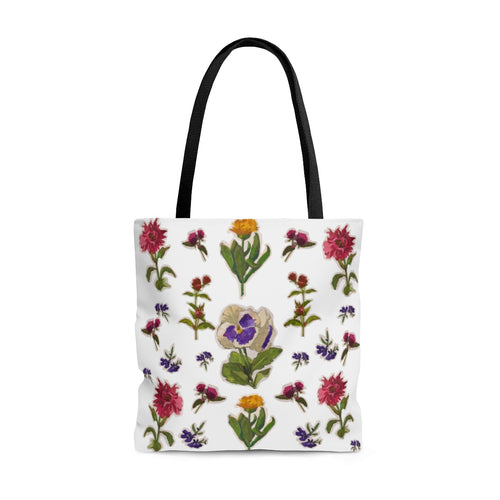 Flower Friends Tote Bag