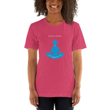 Load image into Gallery viewer, Short-Sleeve Women's T-Shirt Meditation