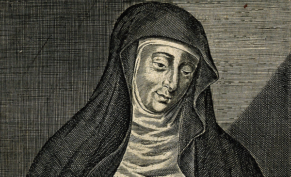 Hildregard of Bingen portrait