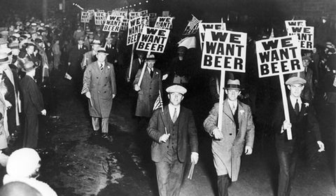 prohibition marching beer