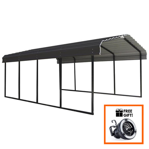 Tuff Nest, Arrow® Carport With 29 Gauge Galvanized Steel Roof, {variant_title]