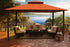 Paragon Outdoor™ Kingsbury Gazebo with Rust Sunbrella Top, Size - 11' x 14':Tuff Nest