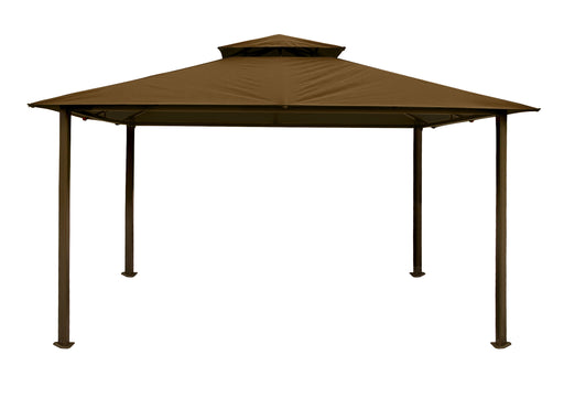 Paragon Outdoor™ Kingsbury Gazebo with Cocoa Top , Size - 11' x 14':Tuff Nest