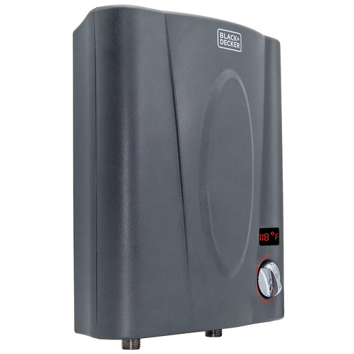 Black+Decker™ 11 kW Self-Modulating 2.35 GPM Point of Use Electric Tankless Water Heater - Dark Grey:Tuff Nest