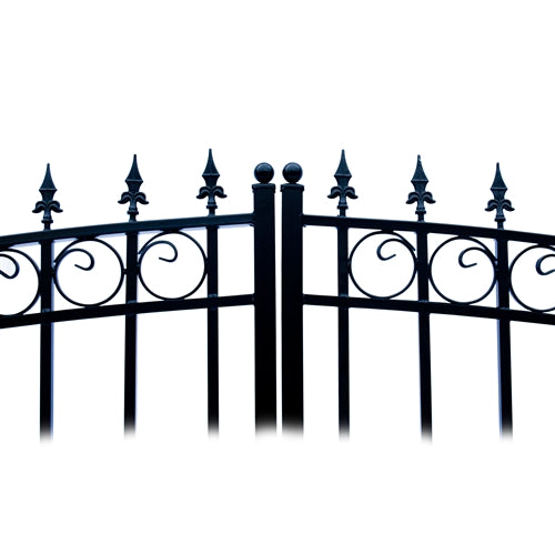 Aleko® Steel Dual Swing Driveway Gate - PRAGUE Style - 12 x 6 Feet:Tuff Nest