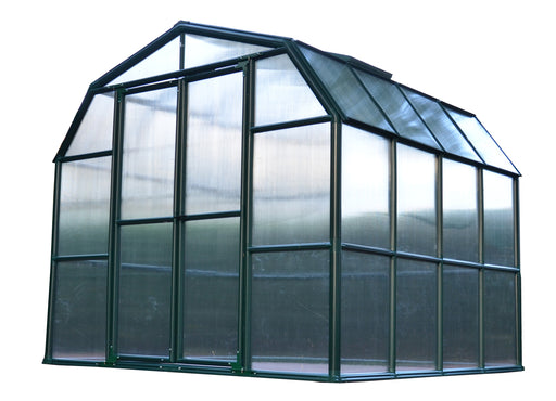 Rion Grand Gardener 2 Greenhouses, Twin Wall - Dark Green Size - 8' x 8':Tuff Nest