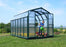 Rion Grand Gardener 2 Greenhouse, Twin Wall, Translucent Side Walls, Dark Green:Tuff Nest