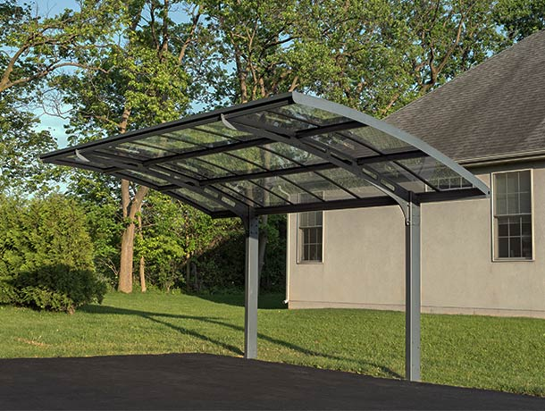 Palram Carports & Gazebos Carports, Arizona Breeze 5000:Tuff Nest