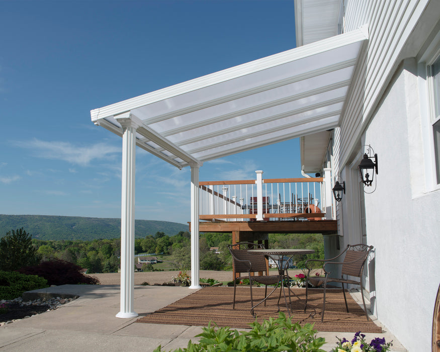 Palram Feria Patio Covers Gala, White Size - 10' x 10':Tuff Nest