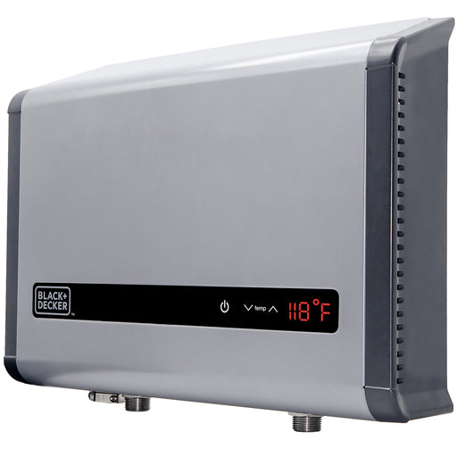 Black+Decker™ 24 kW Self-Modulating 4.68 GPM Multi-Application Electric Tankless Water Heater - Grey:Tuff Nest