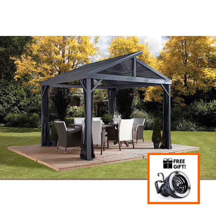 Sojag South Beach II Gazebo 12 x 12 ft. 500-8162783:Tuff Nest