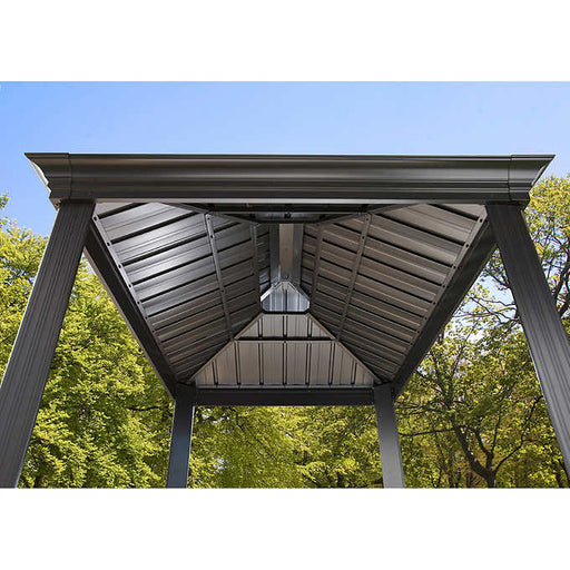 Sojag™ BBQ Messina Shelter With Galvanized Steel Roof - Size 6'x8':Tuff Nest