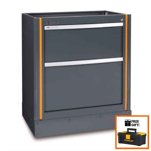 Beta Tools Fixed Module With 2 Drawers C55M2:Tuff Nest