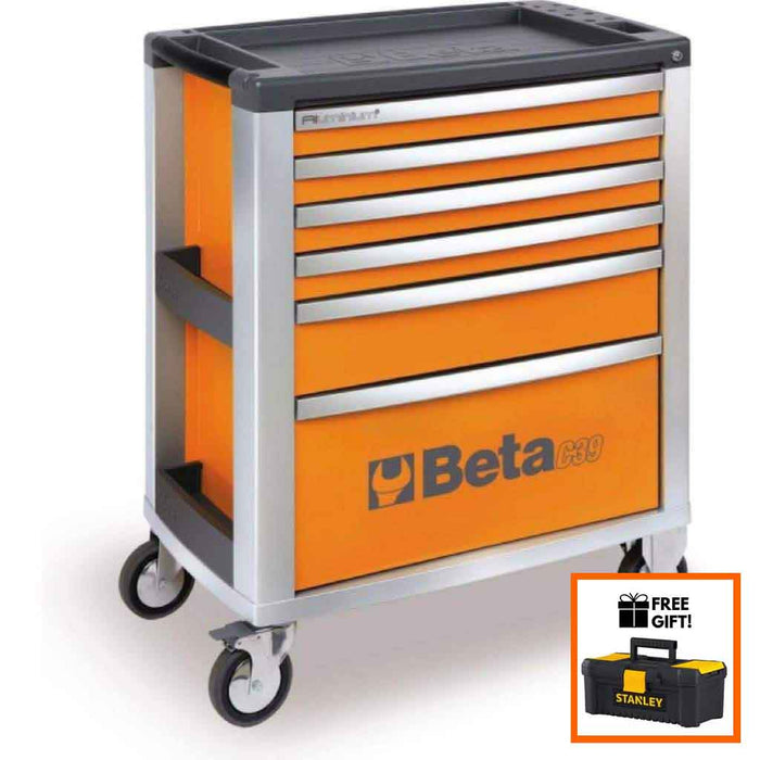 Tuff Nest, Beta Tools Mobile Roller Cabinet C39 6 Drawer, {variant_title]