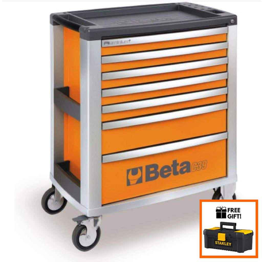 Tuff Nest, Beta Tools Mobile Roller Cabinet C39 7 Drawer, {variant_title]