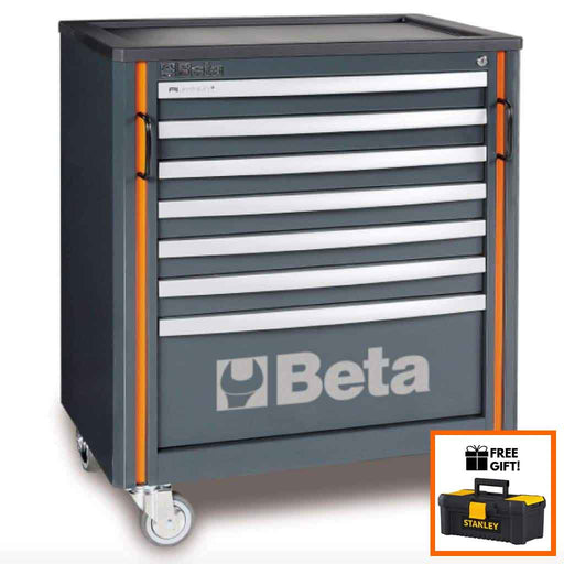 Beta Tools Mobile Roller Cabinet 7 Drawers C55C7:Tuff Nest
