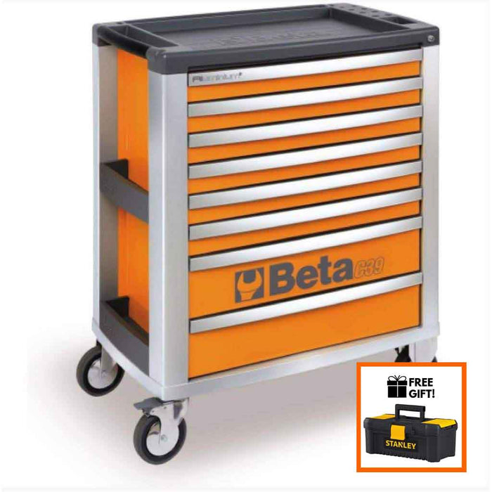 Tuff Nest, Beta Tools Mobile Roller Cabinet C39 8 Drawer, {variant_title]