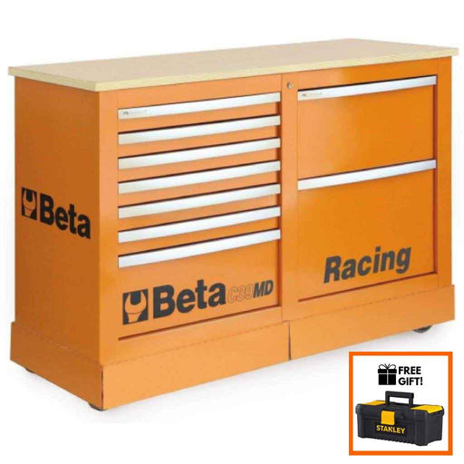 Beta Tools Special Mobile Roller Cabinet C39MD:Tuff Nest