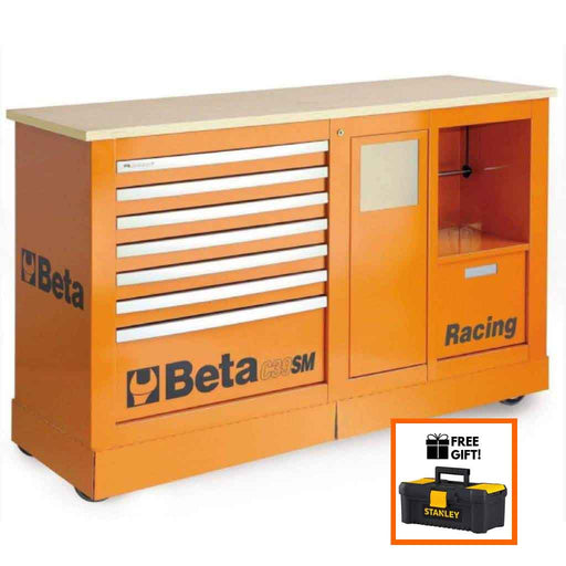 Beta Tools Special Racing Mobile Roller Cabinet C39SM:Tuff Nest