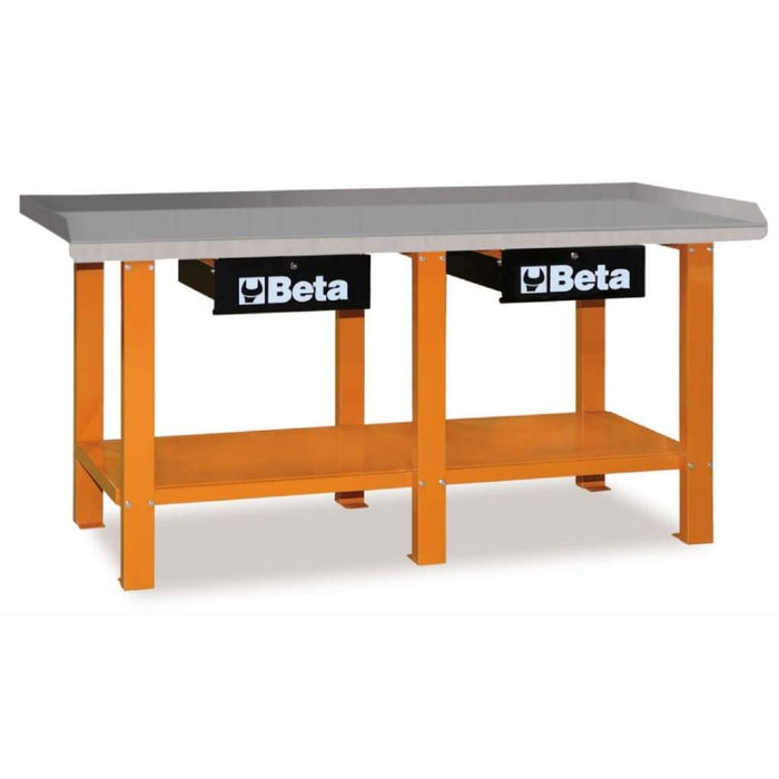 Tuff Nest, Beta Tools Steel Workbench C56 with 2 drawers, {variant_title]