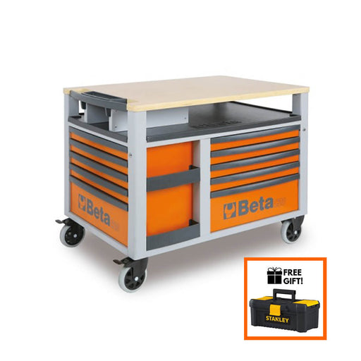 Tuff Nest, Beta Tools Supertank Trolley C28 10 Drawer, {variant_title]