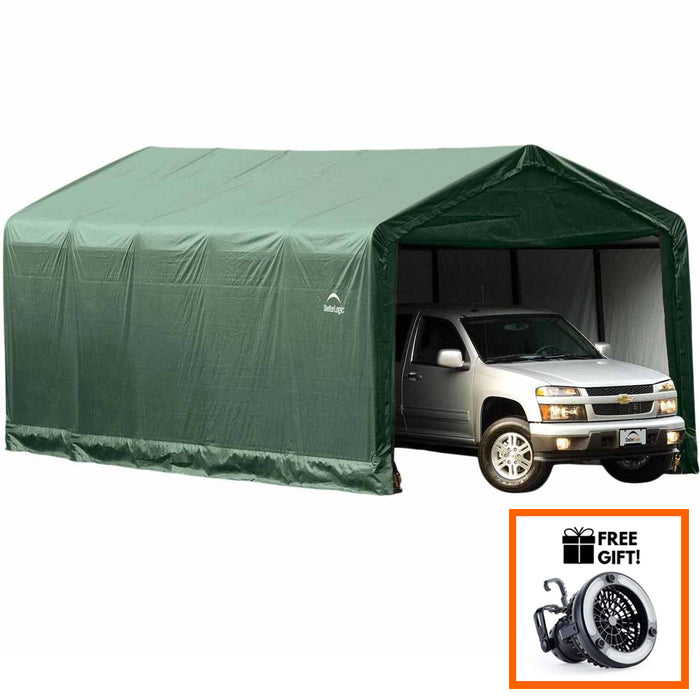 Tuff Nest, ShelterLogic™ ShelterTube Peak Style Garage/ Vehicle Shelter, {variant_title]
