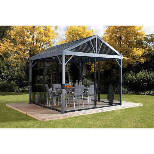 Sojag South Beach  Gazebo 12 x 12 ft. 500-8162776:Tuff Nest