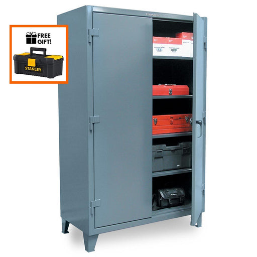 "Strong Hold Industrial Storage Cabinet 65-243 12 gauge, 36"" x 24"" x 60"":Tuff Nest"