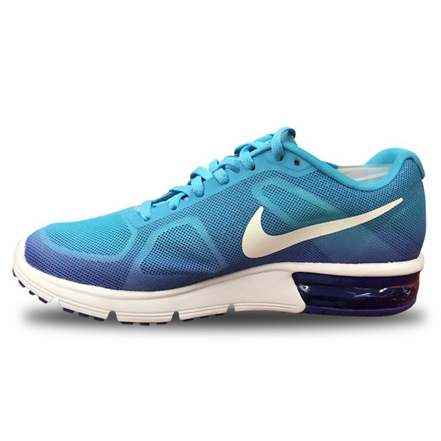 on sale dfde5 c7a97 Original New Arrival 2017 NIKE AIR MAX SEQUENT Women's Running Shoes  Sneakers