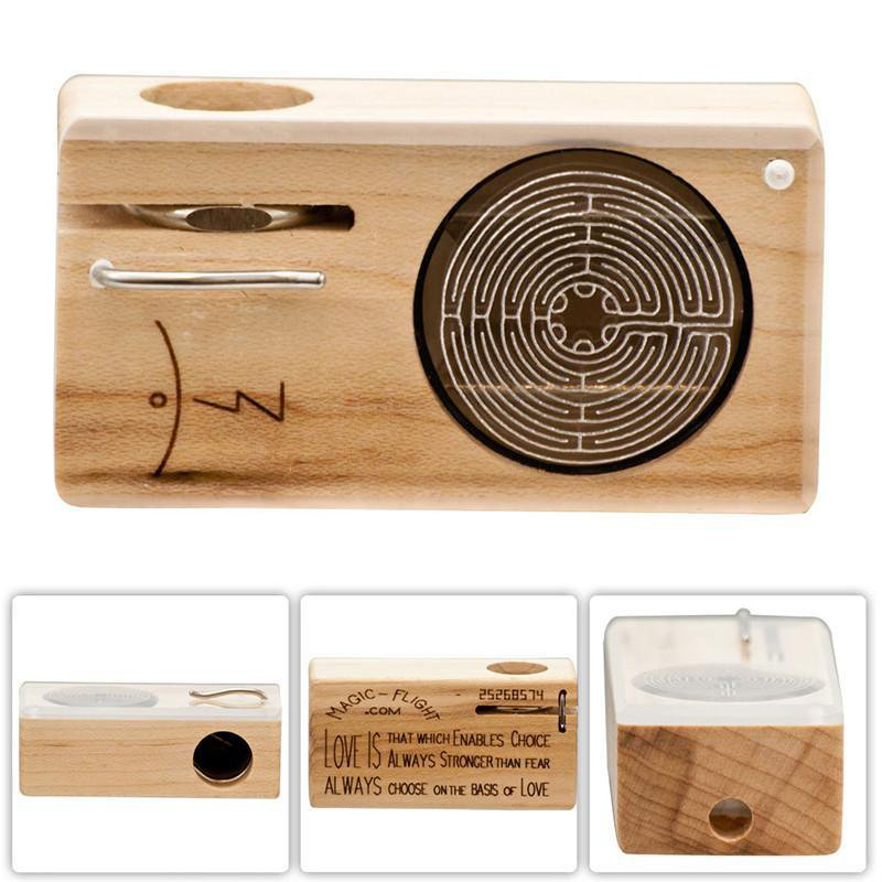 Magic Flight Launch Box Vaporizer with Etch Design