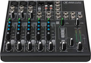 Mackie 802VLZ4 8-Channel Ultra-Compact Analog Mixer with Mackie Mixer Bag