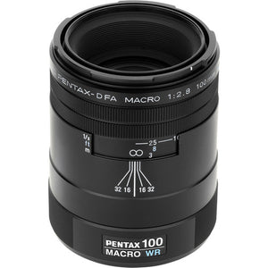 Pentax 100mm f/2.8 WR D FA smc Macro Lens for Pentax Digital SLR Cameras