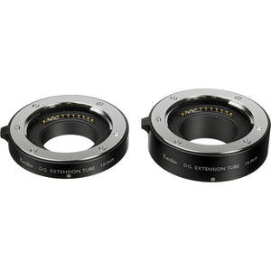 Kenko Macro Automatic Extension Tube Set DG for Olympus & Panasonic Micro Four Thirds - The Camera Box