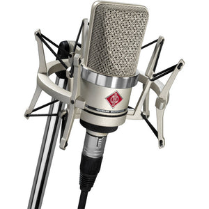 Neumann TLM 102 Studio Set | Cardioid Large Diaphragm Condenser Microphone Set (Nickel)