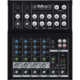 Mackie Mix8 - 8-Channel Compact Mixer - The Camera Box