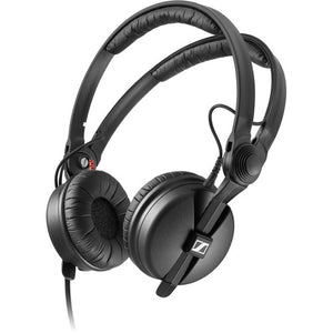 Sennheiser HD 25 PLUS On-ear closed back Monitor DJ Headphones with Slappa HardBody PRO Headphone Case