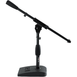 Gator Cases Frameworks GFW-MIC-0821 Kick Drum, Amplifier Compact Mic Stand with Single-Section Boom