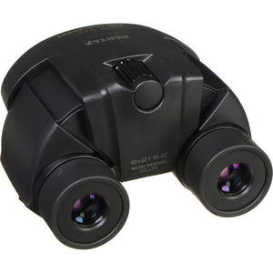 Pentax 8x21 U-Series UP Binocular (Black) - The Camera Box