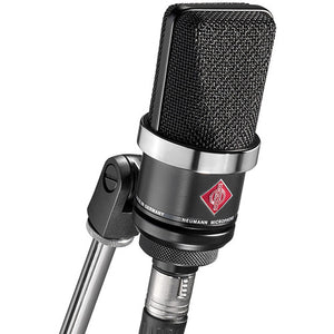 Neumann TLM 102 Studio Set | Cardioid Large Diaphragm Condenser Microphone Set (Black)