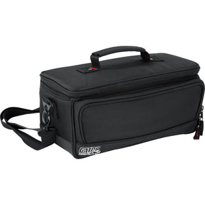 "Gator Cases Padded Mixer Carry Bag; Fits Behringer X-AIR Series Mixers; 13.1"" x 6.25"" x 6"" (G-MIXERBAG-1306)"