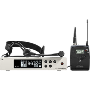 Sennheiser EW 100 G4-ME3 Wireless Cardioid Headset Microphone System ((A1: 470 to 516 MHz)