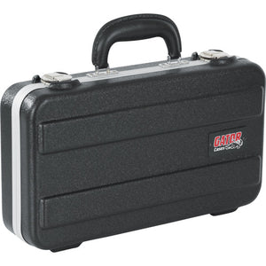 Gator Cases Microphone Hard Case with Foam Drops for Up to (4) Wired Microphones (GM-6-PE)