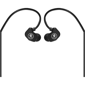 Mackie CR-Buds+ In-Ear Headphones with In-Line Microphone & Remote (Black) - The Camera Box