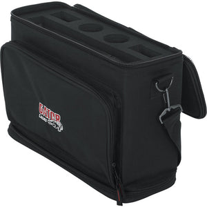 Gator Cases GM-DUALW Padded Carry Bag fits Shure BLX Wireless System with 2 Mics & 2 Body Packs